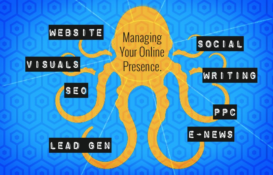 The basics of managing an online presence.